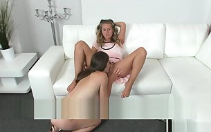 FemaleAgent. Zuzana Zeleznovova - Pussy eating and other lesbian games