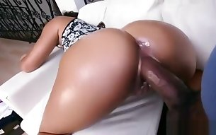 Ebony Teen Takes Long BBC