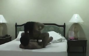 Beautiful Philippines amateur couple homemade